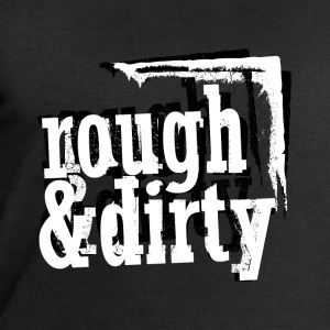 rough & dirty (black & white) T-Shirts - Männer Sweatshirt von Stanley & Stella