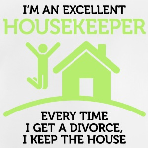 Excellent Housekeeper 1 (2c)++ Barn-T-shirts - Baby-T-shirt