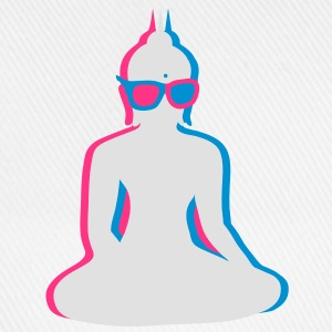 3D Buddha  with 3D glasses T-Shirts - Baseball Cap