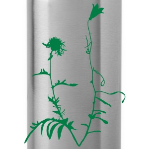 Wild Alpine Flowers Bunch T-Shirts - Water Bottle