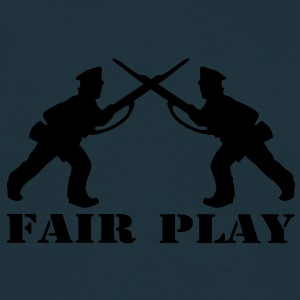 1 col - tabletop games soldier soldat fair play world war camouflage Pullover - Männer T-Shirt