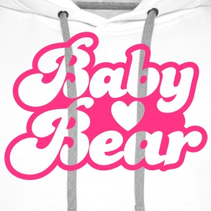BABY bear cute family group  T-Shirts - Men's Premium Hoodie