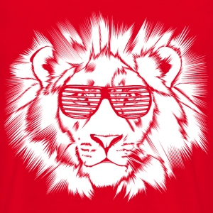 Funkalicious Lion - Men's T-Shirt