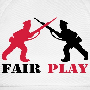2 col - tabletop games soldier soldat fair play world war camouflage Pullover - Baseballkappe