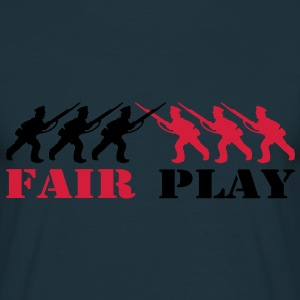 2 col - tabletop games soldier soldat fair play world war camouflage Sweatshirts - Herre-T-shirt