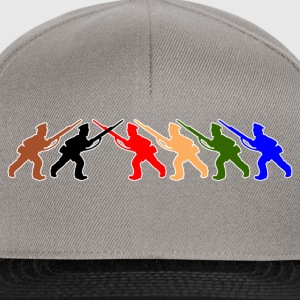 digital - tabletop games soldier soldat fair play world war camouflage T-Shirts - Snapback Cap
