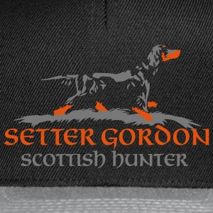 setter_gordon_scottish_hunter Felpe - Casquette snapback