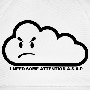 I need some attention a.s.a.p.-transparent T-shirts - Basebollkeps