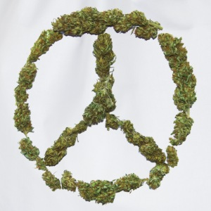 Weed and Worldpeace - Turnbeutel