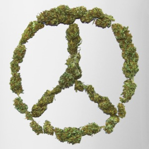 Weed and Worldpeace - Tasse