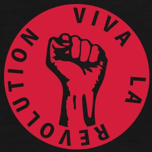 1 colors - Viva la Revolution - Working Class Unity Against Capitalism Vesker - Premium T-skjorte for menn