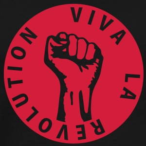 1 colors - Viva la Revolution - Working Class Unity Against Capitalism Felpe - Maglietta Premium da uomo