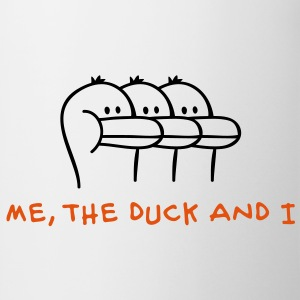 Me, the Duck and I Børne sweatshirts - Kop/krus