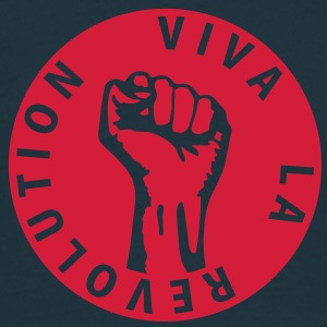 1 colors - Viva la Revolution - Working Class Unity Against Capitalism Pullover - Männer T-Shirt
