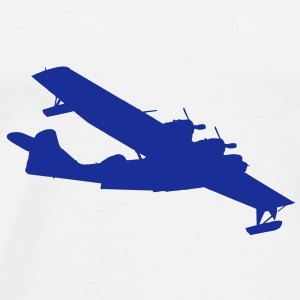 PBY Catalina Flying Bottles & Mugs - Men's Premium T-Shirt