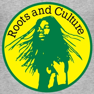 roots and culture Pullover - Männer Slim Fit T-Shirt
