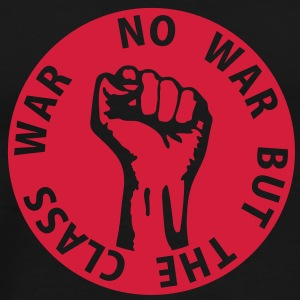 1 color - no war but the class war - against capitalism working class war revolution Gensere - Premium T-skjorte for menn
