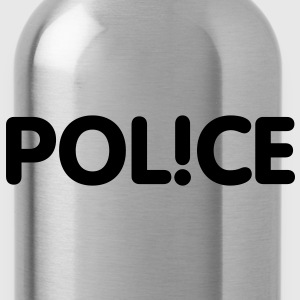 Pol!ce | Police T-Shirts - Trinkflasche