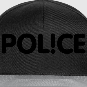 Pol!ce | Police T-Shirts - Casquette snapback