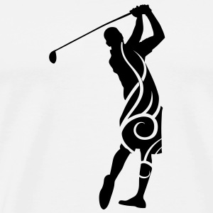 Golf tribal Mug - Männer Premium T-Shirt