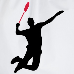 Badminton Men's T-shirt - Drawstring Bag