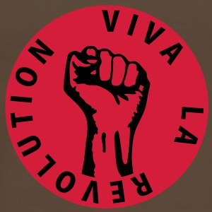 2 colors - Viva la Revolution - Working Class Unity Against Capitalism Taschen - Männer Premium T-Shirt