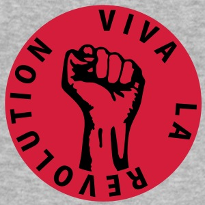 2 colors - Viva la Revolution - Working Class Unity Against Capitalism Pullover - Männer Slim Fit T-Shirt
