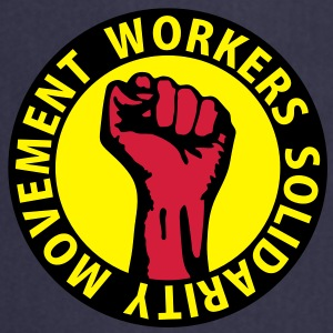 3 colors - Workers Solidarity Movement - Working Class Unity Against Capitalism Sudadera - Delantal de cocina