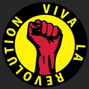 3 colors - Viva la Revolution - Working Class Unity Against Capitalism Sweatshirts - Herre premium T-shirt med lange ærmer