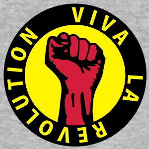 3 colors - Viva la Revolution - Working Class Unity Against Capitalism Hoodies & Sweatshirts - Men's Slim Fit T-Shirt