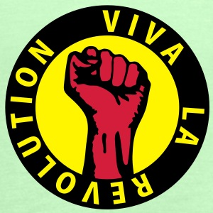 3 colors - Viva la Revolution - Working Class Unity Against Capitalism Camisetas - Camiseta de tirantes mujer, de Bella