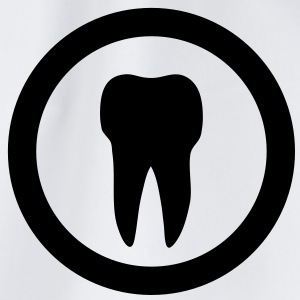 tooth icon T-Shirts - Turnbeutel
