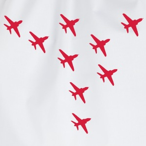 Red Arrows Eagle Formation - Drawstring Bag
