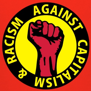 3 colors - against capitalism & racism - against capitalism working class war revolution T-Shirts - Kinder Premium Hoodie