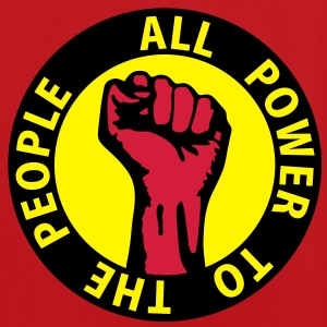 3 colors - all power to the people - against capitalism working class war revolution Taschen - Männer Fußball-Trikot