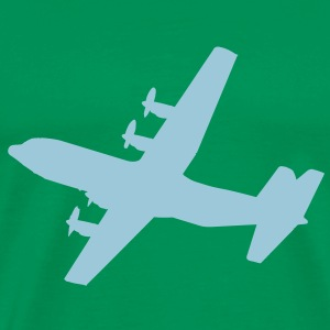 Lockheed C-130 Hercules Cooking Apron - Men's Premium T-Shirt