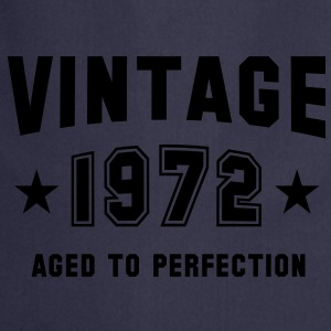 VINTAGE 1972 T-Shirt - Aged To Perfection SN - Cooking Apron