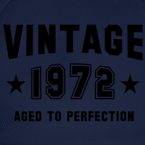 VINTAGE 1972 T-Shirt - Aged To Perfection SN - Baseball Cap