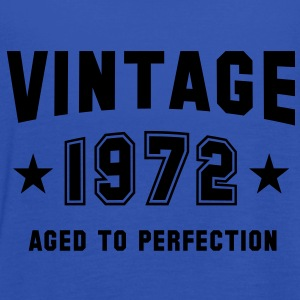 VINTAGE 1972 T-Shirt - Aged To Perfection SN - Women's Tank Top by Bella