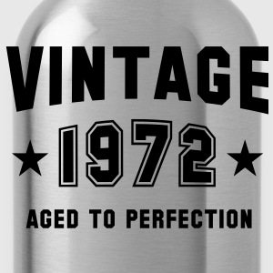 VINTAGE 1972 T-Shirt - Aged To Perfection SN - Water Bottle