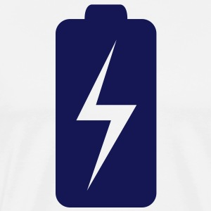 Battery Charge (1c)++ Tröjor - Premium-T-shirt herr