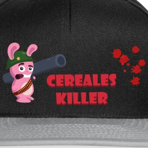 ct2c_lapin_bazooka_cereales_killer Tee shirts - Casquette snapback