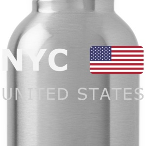 Teenager T-Shirt NYC UNITED STATES - Water Bottle