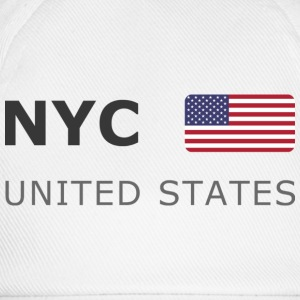 Classic T-Shirt NYC UNITED STATES dark-lettered - Baseballcap