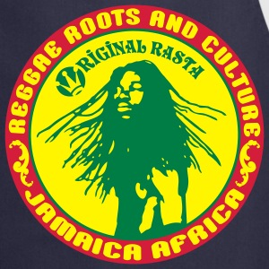 reggae roots and_culture jamaica africa Bluzy - Fartuch kuchenny