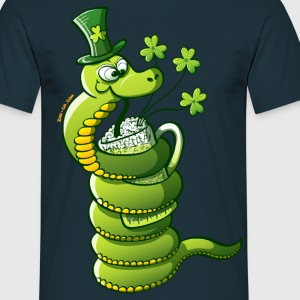 Saint Patrick's Day Snake Hoodies & Sweatshirts - Men's T-Shirt