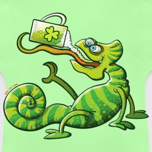 Saint Patrick's Day Chameleon Kids' Tops - Baby T-Shirt