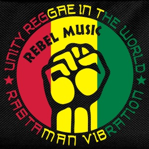 unity reggae in the world T-shirt - Zaino per bambini