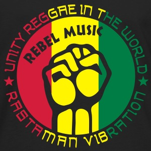 unity reggae in the world Sweat-shirts - T-shirt manches longues Premium Homme