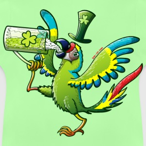 Saint Patrick's Day Macaw Kids' Tops - Baby T-Shirt